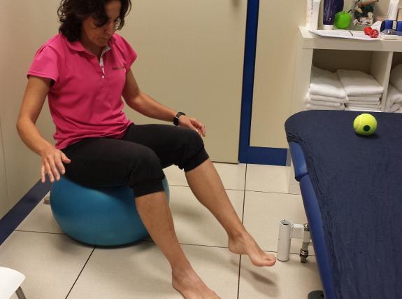 Ejercicios de fisioterapia en casos de esclerosis múltiple