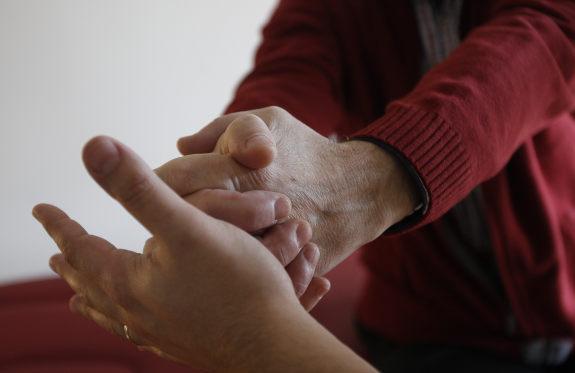 Ejercicios practicados en cada sesión con pacientes con esclerosis