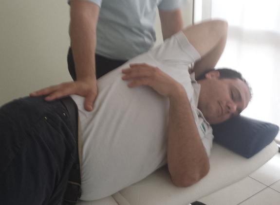 Los masajes son una ayuda fundamental para los pacientes de Parkinson.