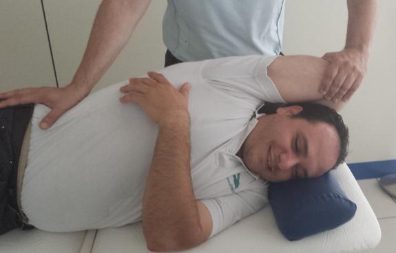 El alivio de los dolores que provocan las ataxias son un reto para la fisioterapia.