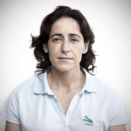 Esther Sanjurjo es una de las fisioterapeutas que le pueden tratar en el barrio de Salamanca.