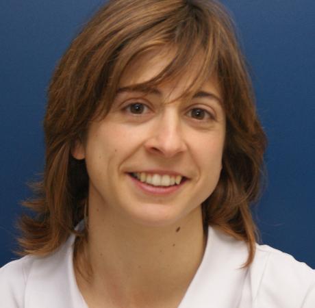 Eloisa de Miguel es una de las fisioterapeutas del equipo de Madrid.