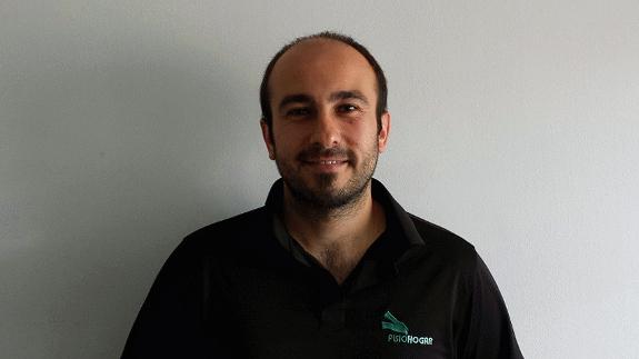 Oier es uno de los fisioterapeutas que le puede atender en Lekeitio.