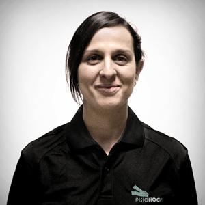 Patricia es una de las especialistas en fisioterapia para distrofia muscular.