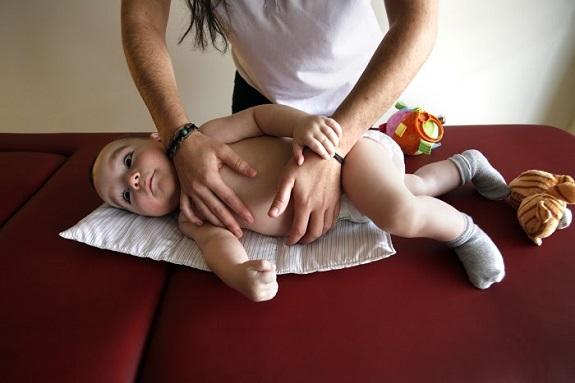 Fisioterapia con niños con ataxia